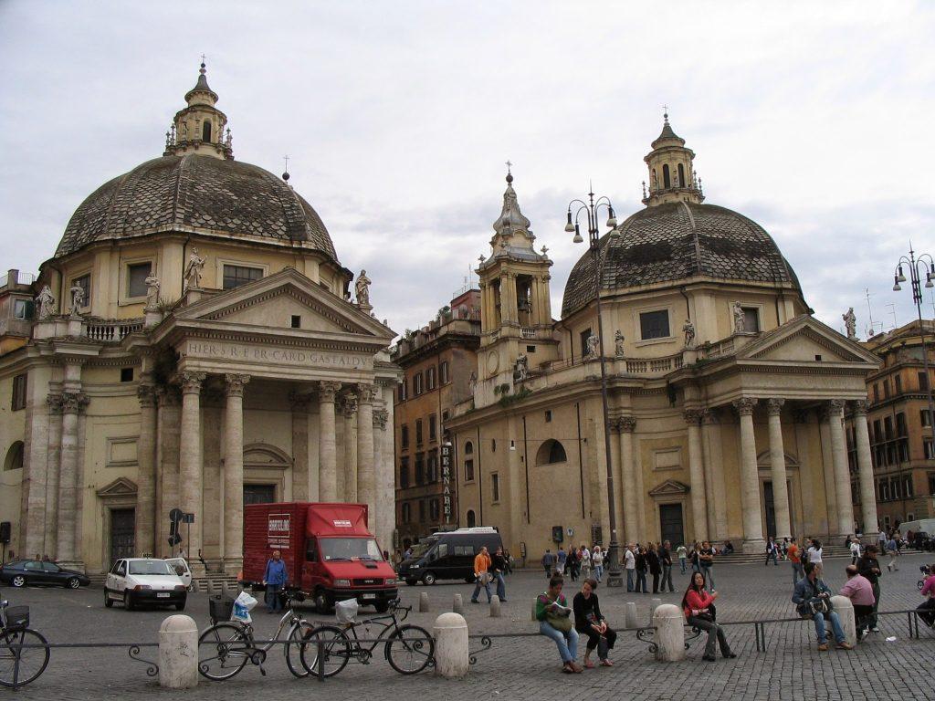 Piazza del Popolo churches
