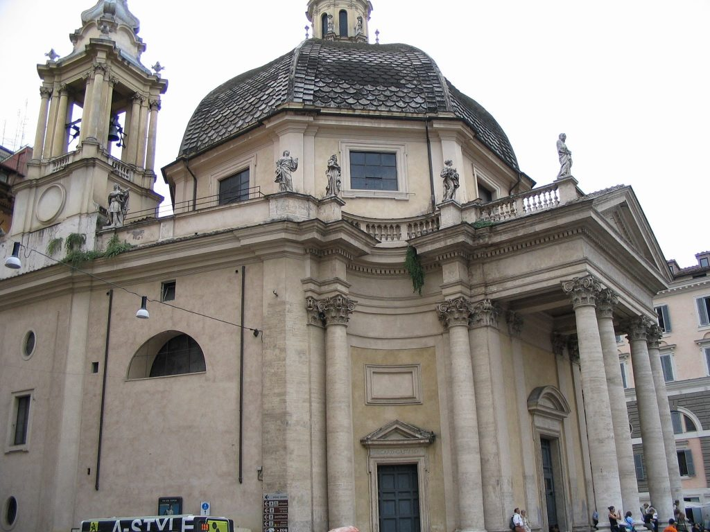 Piazza del Popolo Churches and Obelisk 9