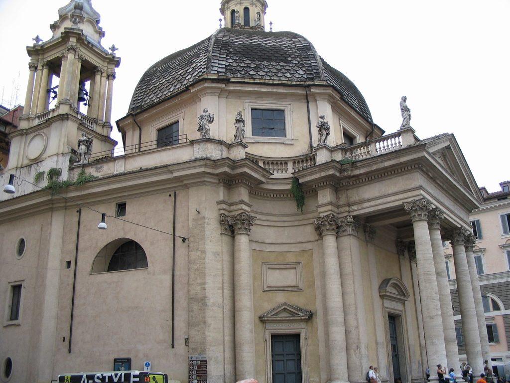 Piazza del Popolo Churches and Obelisk 11