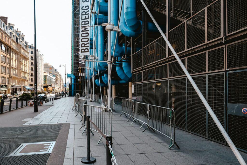 The Georges Pompidou Center 1